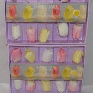 2 packs Tulip Flower Shimmer String Wedding Lights
